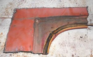 1970 1971 Ford Torino Cyclone Lh Top Corner Trunk Weatherstrip Railing Patch