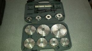 Matco Tools Brs12 Master Pneumatic Bearing Race Seal Driver Set In Hard Case
