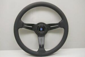 Nardi Rally Steering Wheel 350mm Leather Tri Colored Italy Edition 6069 35 2088