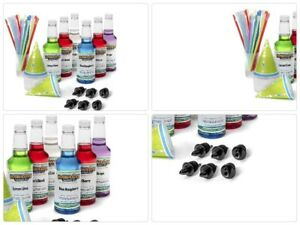 Hawaiian Shaved Ice 6 Flavor Fun Pack Includes 6 Snow Cone Syrups 16 Oz Each