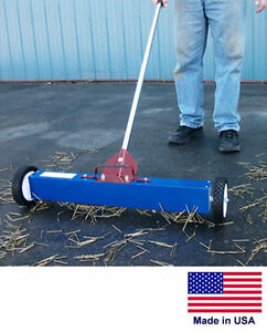 Magnetic Sweeper Commercial industrial 36 Cleaning Path With Load Release