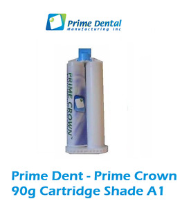 Temporary Crown And Bridge Material 90gm Cartridge A1 Prime Dent 100 104a1