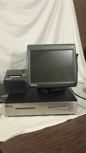 Micros Pos Workstation 5a Work Station 400814 101 Drawer Printer System Ws5a
