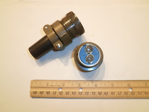 New Ms3106a 24 9s sr With Bushing 2 Pin Female Plug