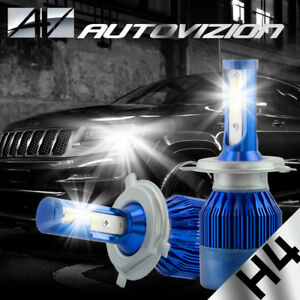 2x Philip H4 488w 48800lm Led Headlight Hi Lo Beam Car Light Bulbs 9003 Hb2 Kit