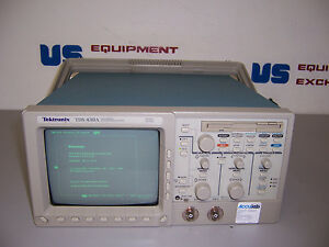 9263 Tektronix Tds430a Oscilloscope 2 Channel Digitizing 400 Mhz 100ms s
