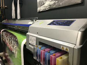 Used Roland Soljet Sc 500 54 Large Format Printer
