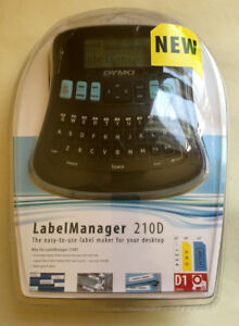 Dymo Labelmanager 210d Label Thermal Printer New Free Priority Shipping 1738345