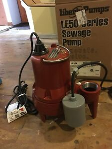 Le50 series Sewage Pump This Is The Le51a