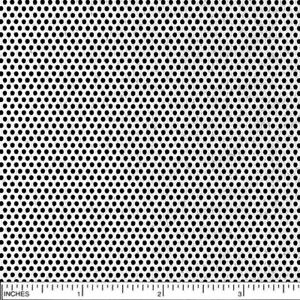 Stainless Perforated Steel Sheet 22 Ga Width 24 Length 48 Hole 1 16