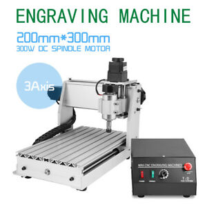 3020t 3 Axis Engraving Machine Usb Engraver Drilling Milling 3d Cutter