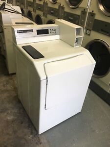 Bisque Maytag Neptune 20lb Front Load Commercial Washer Laundromat Coin Mah21pd