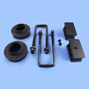 88 98 Gmc Chevy C1500 C2500 2wd Steel Full Front 3 Rear 3 Leveling Lift Kit