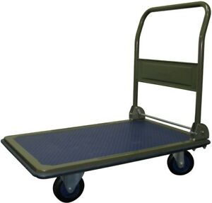 Folding Platform Utility Hand Truck Cart Rolling Dolly 600 Lb Furniture Mover