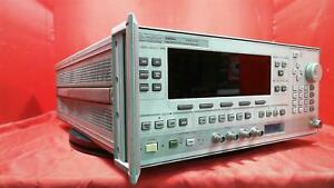 Hp Agilent Keysight 83620a 10mhz To 20ghz Synthesized Signal Generator