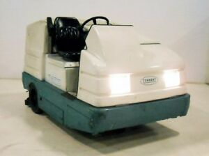 Tennant 7400 Ride On Sweeper Scrubber Gasoline Powered