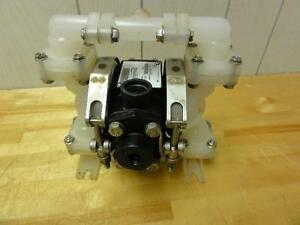 Sandpiper Pb1 4 ts3pp Air Operated Double Diaphragm Pump 1 4 Or 1 2 Npt 100psi
