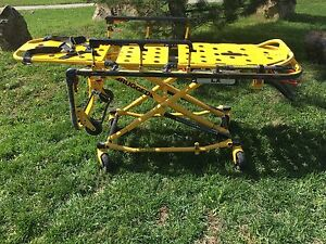 Stryker Rugged Lx 6070 Ambulance Stretcher Gurney Emergency Ems Medical