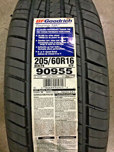 4 New 205 60 16 Bfgoodrich Touring T a Tires