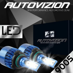 Cree Led Headlight 9005 Hb3 6000k Low High Beam Fog Drl Bulb White