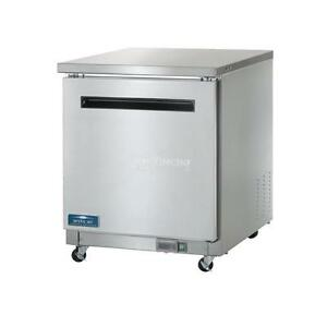 New Arctic Air Auc27f Commercial Undercounter Freezer Single One Door Nsf
