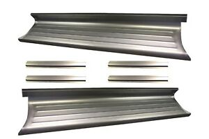 1948 1949 1950 1951 1952 Ford F 1 Pickup Truck Steel Running Boards Ribbed Pair