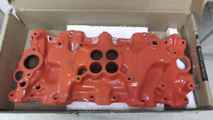 1958 Up Chevrolet Truck 348 409 Four Barrel Intake Manifold