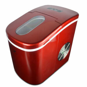 Portable Countertop Ice Maker Freestanding Touch Panel Ce Cube Machine 26lbs d
