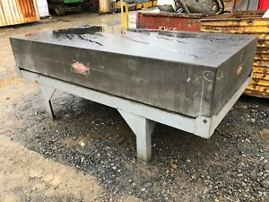 14 Rahn Granite Surface Plate Inspection Table W Stand 4 X 8