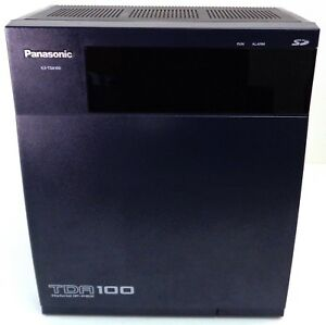 Panasonic Kx tda100 Ip pbx Cabinet W Mpr Wall Bracket Defaulted Upgraded