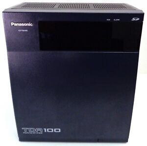 Panasonic Kx tda100 Hybrid Ip pbx Basic Cabinet W Wall Mount Bracket Refurbished