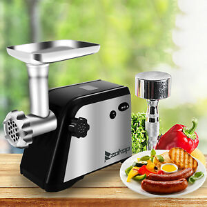 1300w Electric Meat Grinder Home Kitchen Industrial Sausage Beef Stuffer Makers