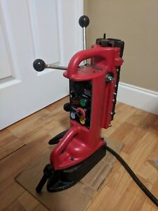Milwaukee 4203 Electromagnetic Drill Press Base 11 Travel Used