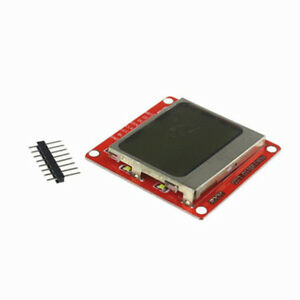 1pc 84 48 Lcd Display Module White Backlight Lcd With Pcb For Nokia 5110 Arduino