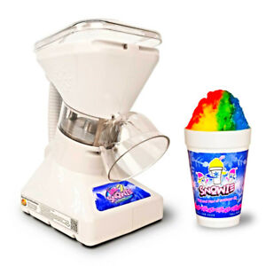 Little Snowie 2 Ice Shaving Machine Snow Cone Maker Syrup Samples Summer Dessert