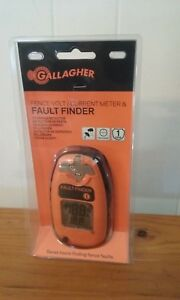 New Gallagher Fence Volt current Meter And Fault Finder Free Shipping