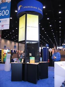 Custom Skyline Trade Show Booth Ideal For 20 X 20 Or Larger