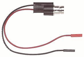 Pack Of 10 5069 Test Lead Bnc Jack To 0 64mm Square Pin Sockets X 2 50