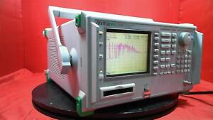 Anritsu Ms2668c Spectrum Analyzer opt 03