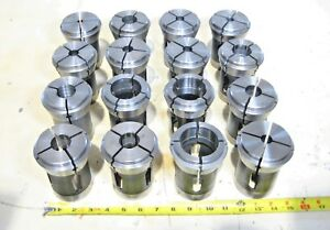Hardinge B60 Index Collet Set Inch B S 23 4 Cnc Lathe Chuck 1 2 5 8 3 4 1 2