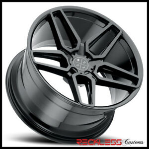Blaque Diamond 20 Bd17 Gloss Black Concave Wheel Rim Fits G11 G12 Bmw Alpina B7