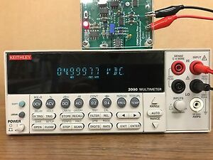 Keithley 2000 Digital Multimeter 6 5 digit Used Tested Ships Free