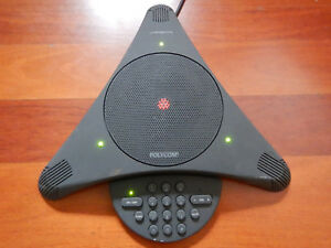 Polycom Soundstation 2201 00106 001 Business Conference Phone With Wall Module