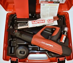New Hilti Dx 5 Powder Actuated Tool With X 5 460 f8 Attachment Extras