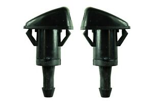 Windshield Washer Nozzle Front Left Right Pair Fits Chrysler Dodge
