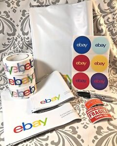 Ebay Shipping Supplies Poly Fragile Ebay Stickers Tape Buy More Save More 125pc