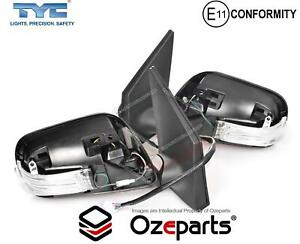Set Pair Lh Rh Door Mirror 7pins For Toyota Corolla Zre152 S2 Sedan 2010 2013