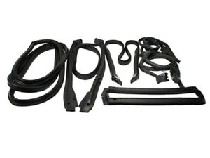 90 96 Corvette C4 Coupe Full Weatherstrip Kit Brand New Set Weather Strip Seal