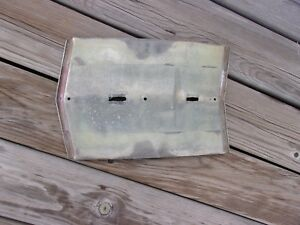 Fulton Exterior Sun Visor Center Section Part Original Not Reproduction