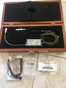 Tektronix P6207 4 Ghz Fet Probe For Digital Oscilloscope W Wooden Case